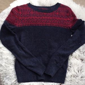 Sweater from Aeropostale size small.